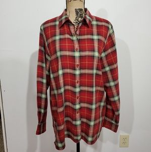 Foxcroft tartan plaid flannel